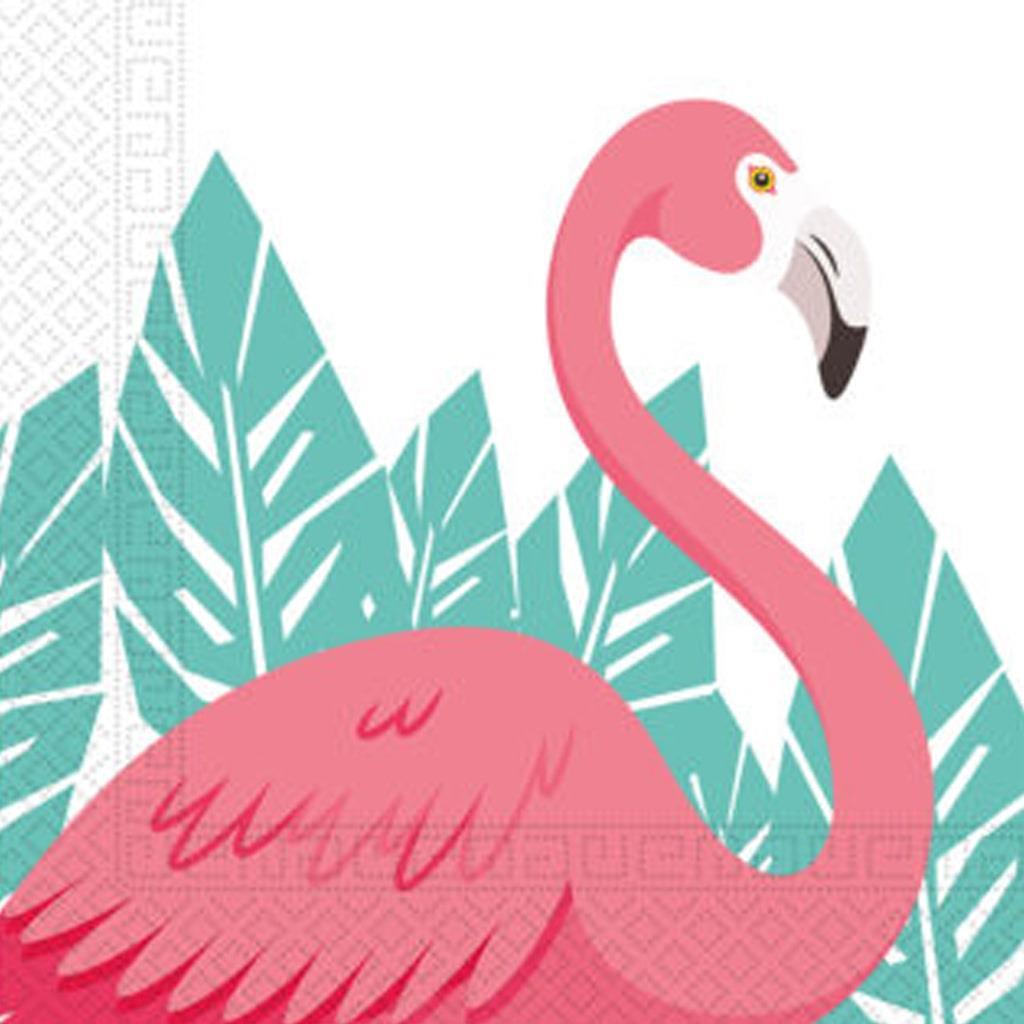 Guardanapos Flamingos