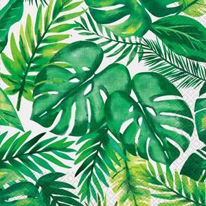 Guardanapos Folhas Tropicais, 16 unid.