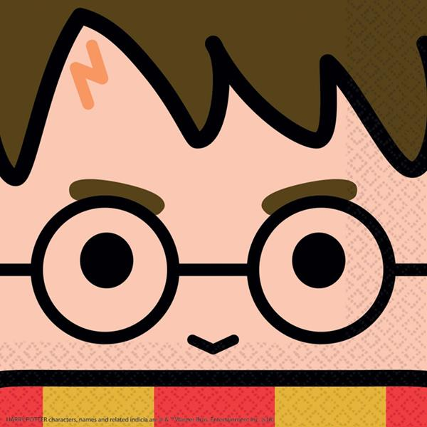 Guardanapos Harry Potter Chibi, 16 unid.