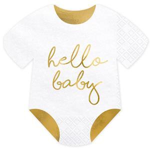 Guardanapos Hello Baby Babygrow, 20 unid.
