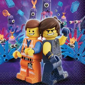 Guardanapos Lego Movie 2, 16 unid.