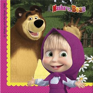 Guardanapos Masha e o Urso