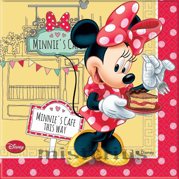 Guardanapos Minnie , 20 unid