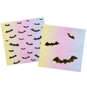 Guardanapos Morcegos Pastel, 16 unid.