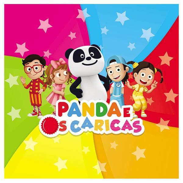 Guardanapos Panda em Papel, 20 unid.