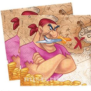 Guardanapos Pirata Disney-Festa de Aniversário