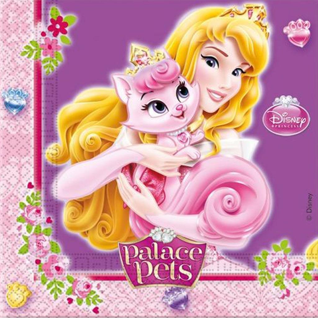 Guardanapos Princesas, 20 unid.