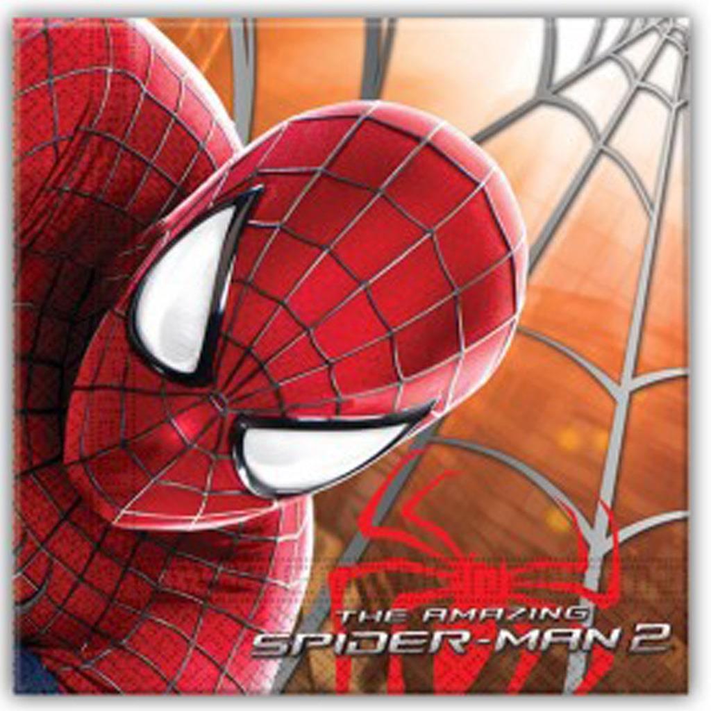 Guardanapos Spiderman, 20 unid.
