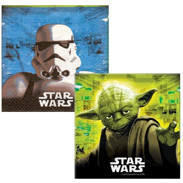 Guardanapos Star Wars, 20 Unid.