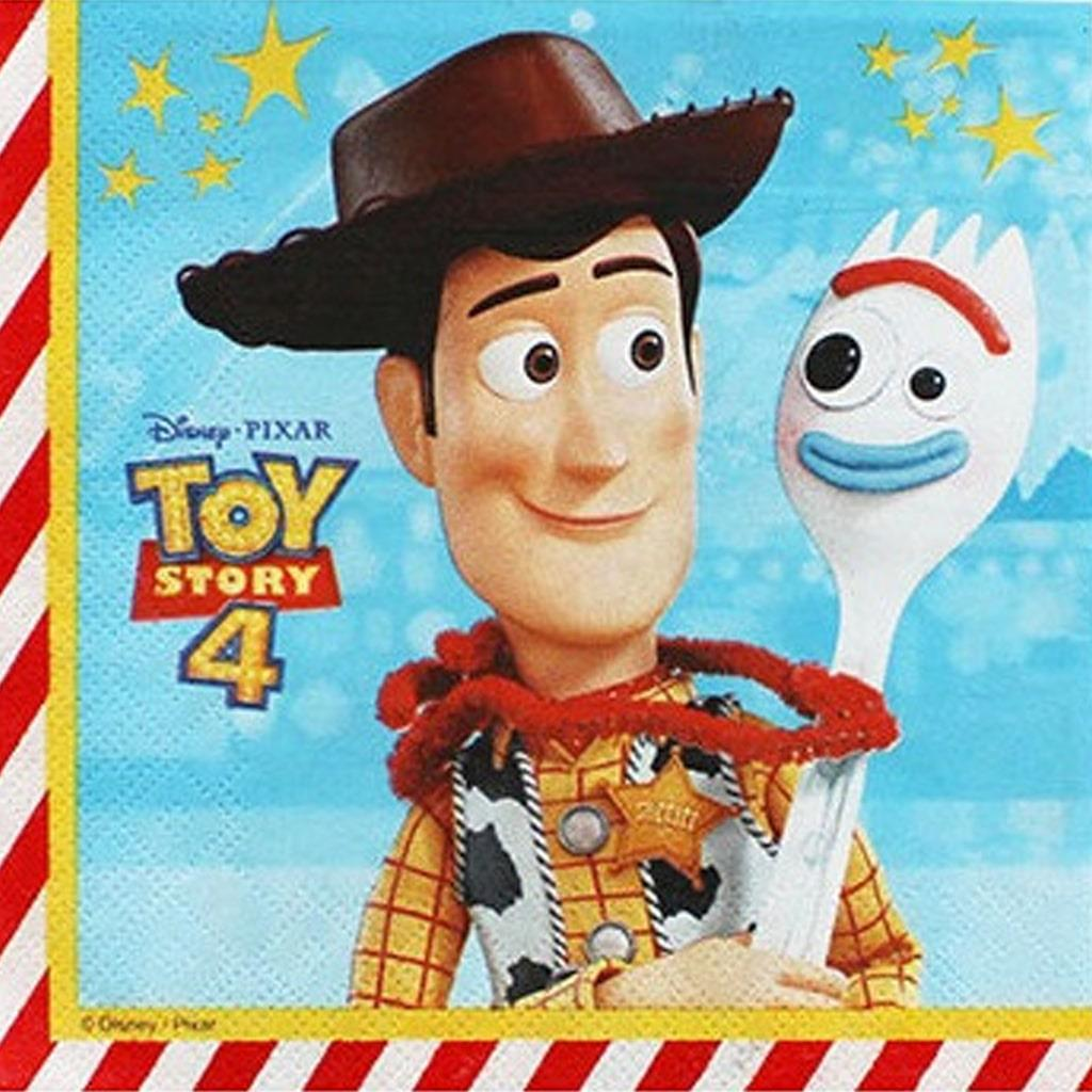 Guardanapos Toy Story 4, 20 unid.