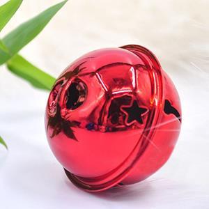 Guizos Vermelhos, 4 cm, 6 unid.