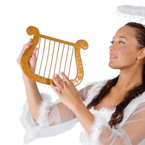 Harpa de Anjo Dourada