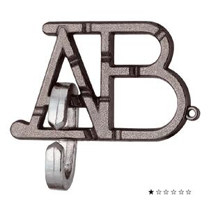 Jogo Quebra-cabeças Metal ABC Nivel Diversão