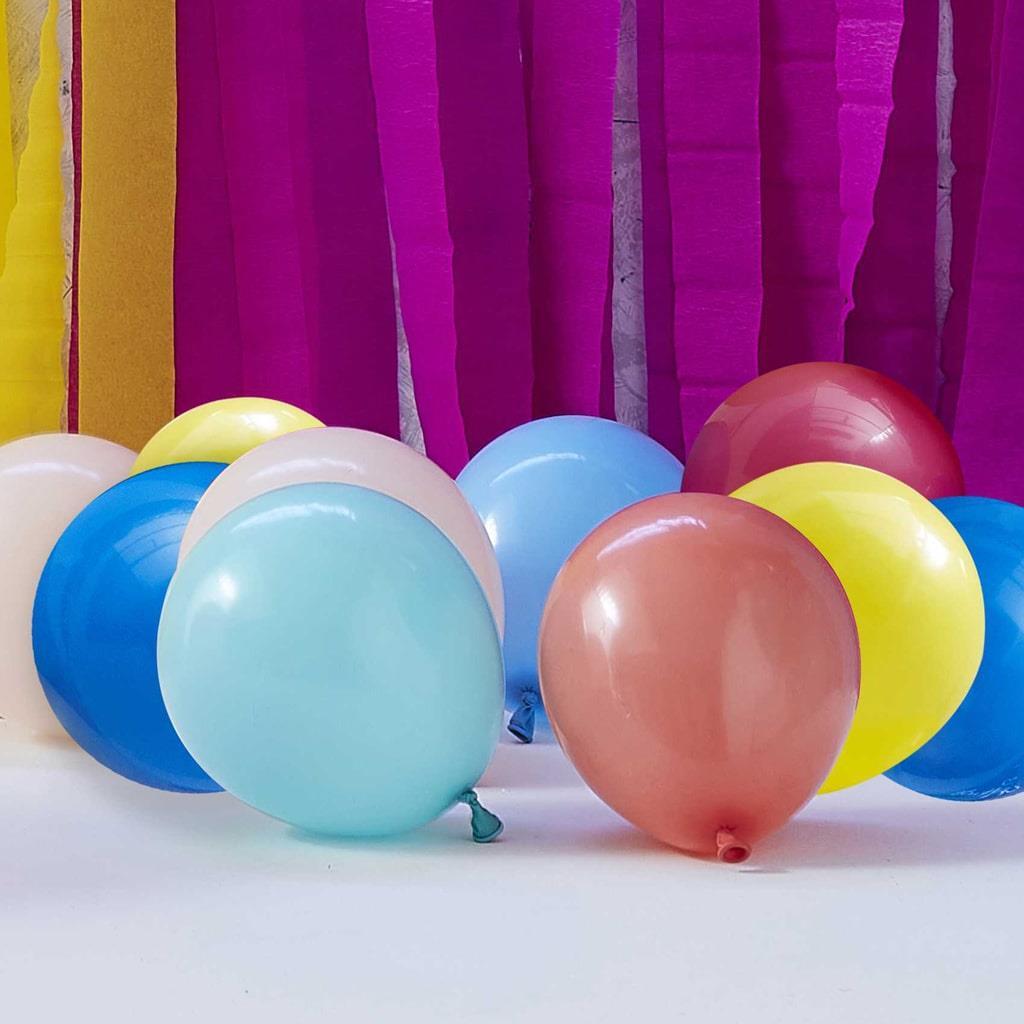 Kit 40 Balões Multicolor para Estrutura de Número