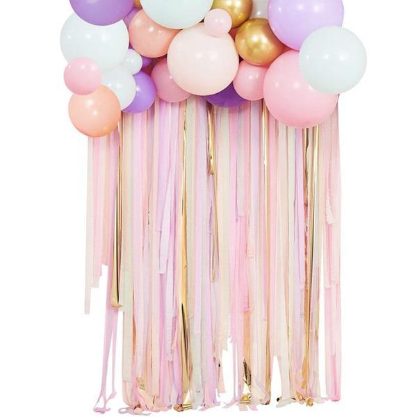 Kit 75 Balões Pastel