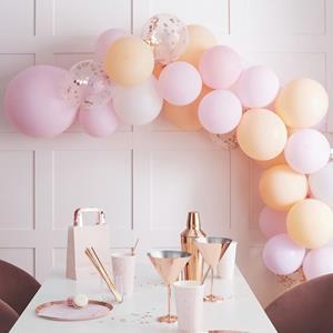 Kit Arco 60 Balões Mate