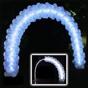 Kit Arco Balões com Led 2.30m x 3.70m