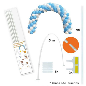 Kit Arco para Balões, 5m