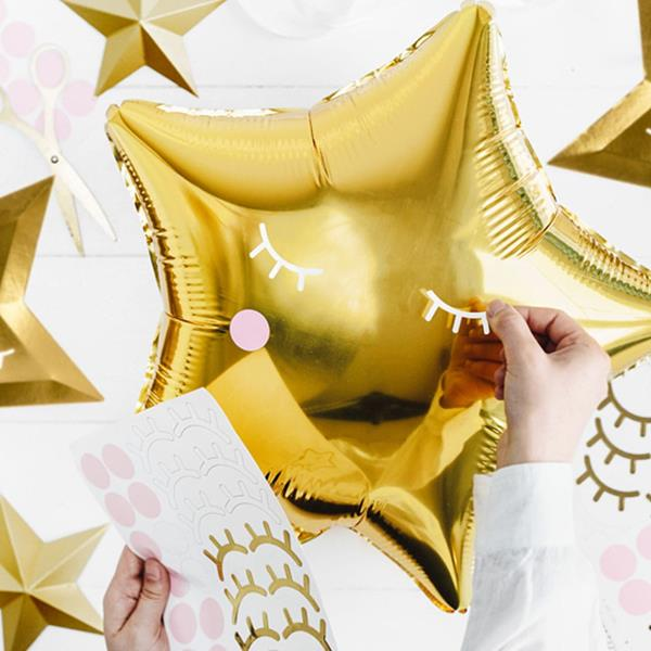 Autocolantes Unicórnio Para Balões