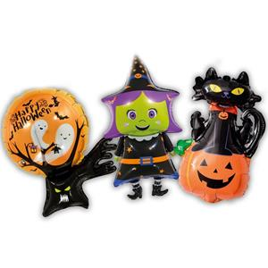 Kit Balões Bruxa e os Amigos Halloween