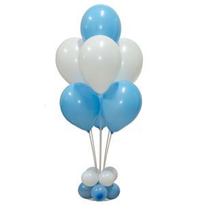 Kit Bouquet de Balões Azul, 100 Cm
