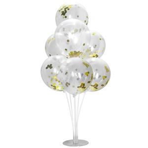 Kit Bouquet de Balões com Confetis Dourados, 100 Cm