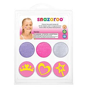 Kit Carimbo Princesas Snazaroo