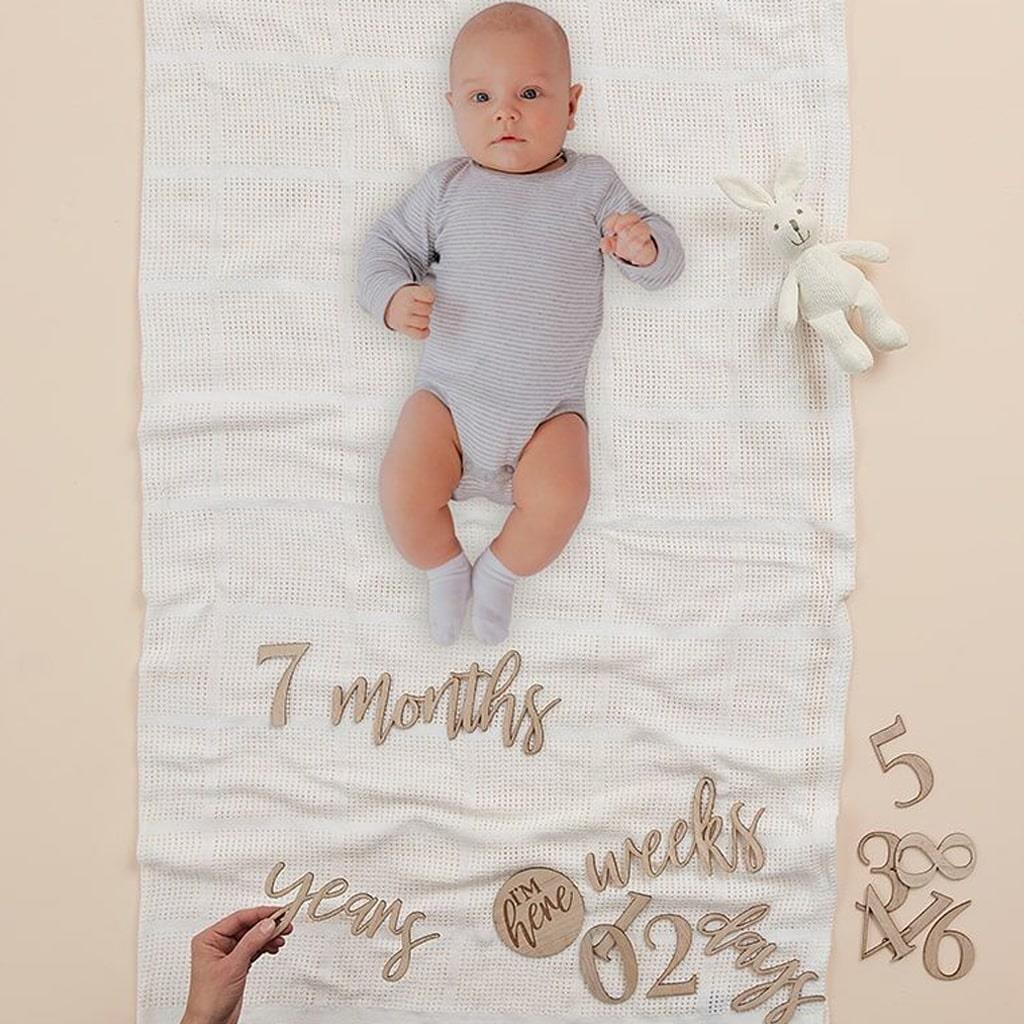 Kit Decorativo para Fotografias de Maternidade