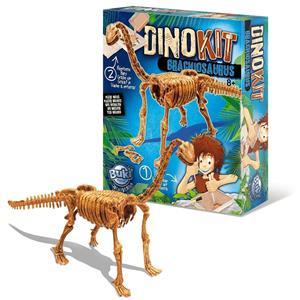 Kit Escavação Dinossauro Fóssil Brontossauro