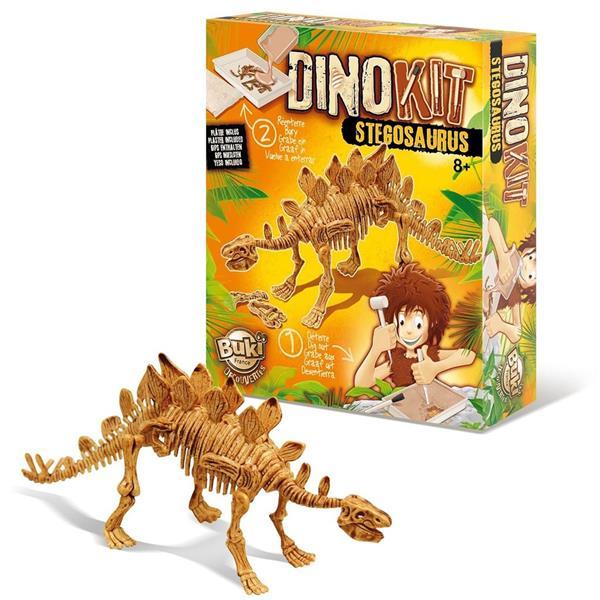 Kit Escavação Dinossauro Fóssil Estegossauro
