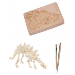 Kit Escavação Esqueleto de Dinossauro