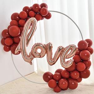 Kit Grinalda Love Balões Vermelhos