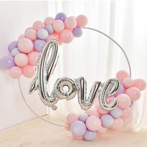 Kit Grinalda Love com Balões Pastel