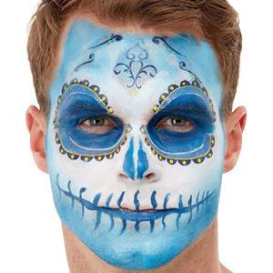 Kit Maquilhagem Fx Dia dos Mortos Azul