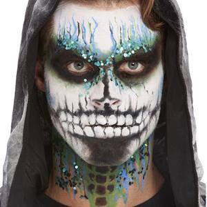 Kit Maquilhagem Fx Esqueleto Azul Aqua
