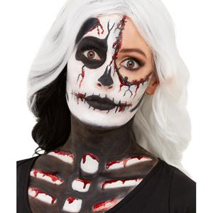 Kit Maquilhagem Fx Esqueleto Sangrento