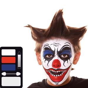 Kit Maquilhagem Palhaço Joker