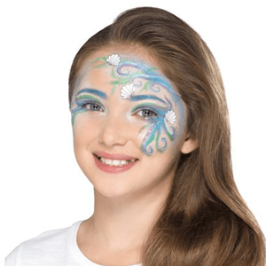 Kit Pintura Facial Aqua