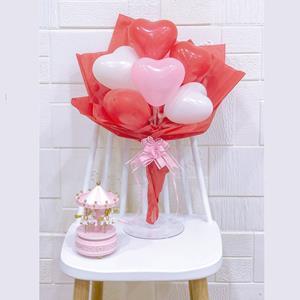 Kit Ramo de Flores Corações