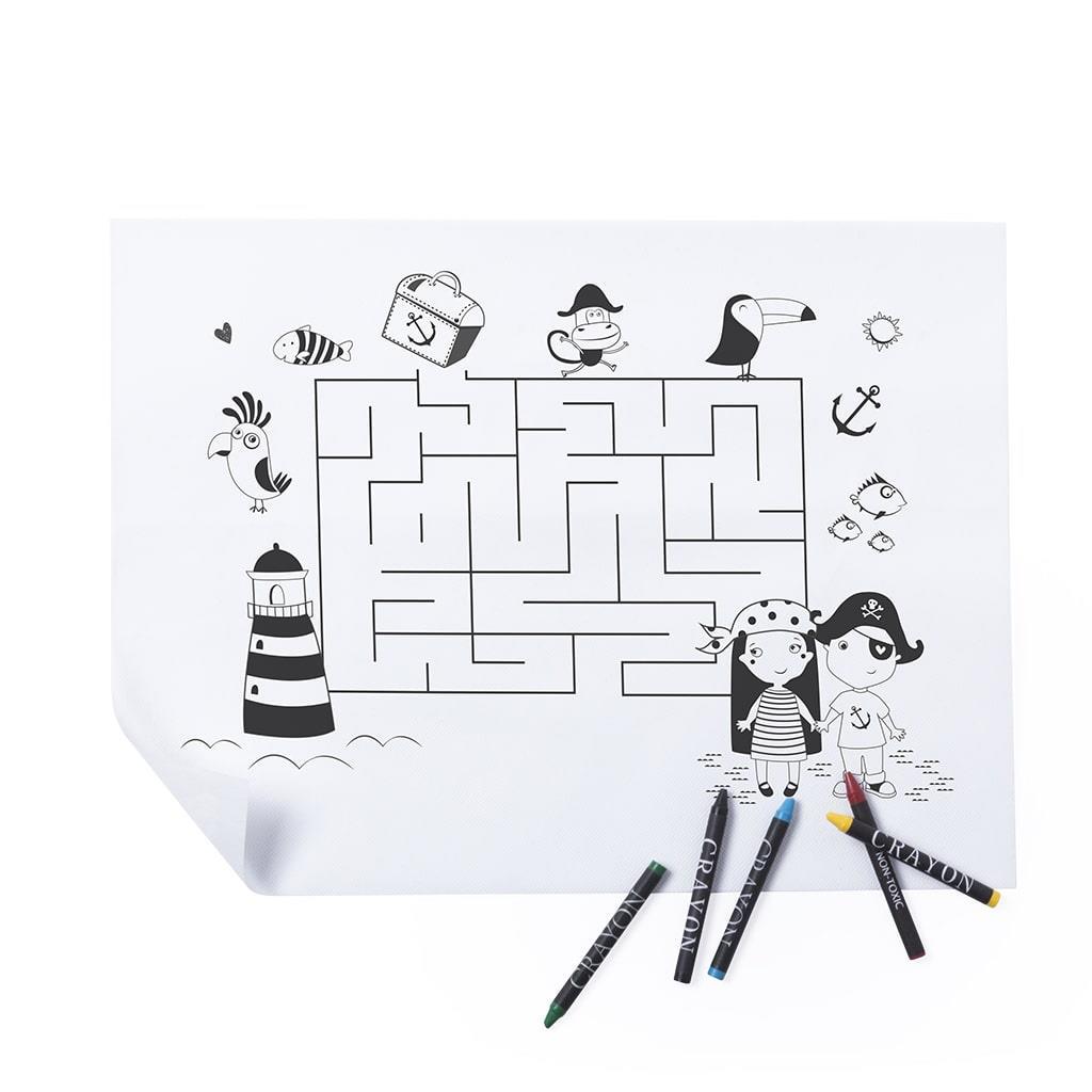 Labirinto para pintar