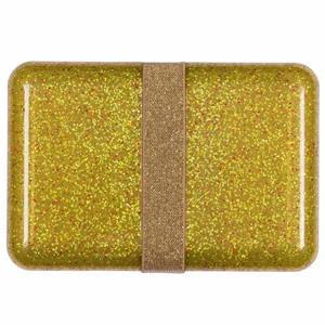 Lancheira Dourada com Glitter