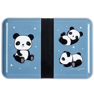 Lancheira Panda Amoroso Azul