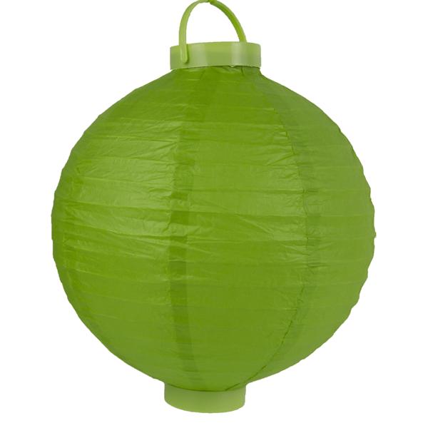 Lanterna de Papel Led, 25cm