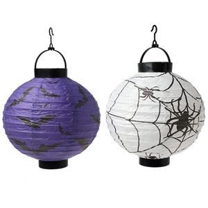Lanternas Papel Halloween Sortidas, 20 cm