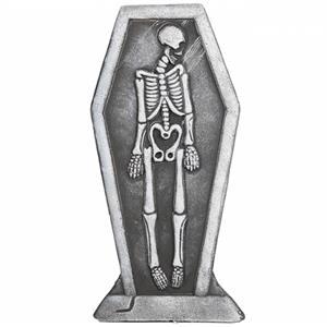 Lápide com Esqueleto em Esferovite, 61 cm