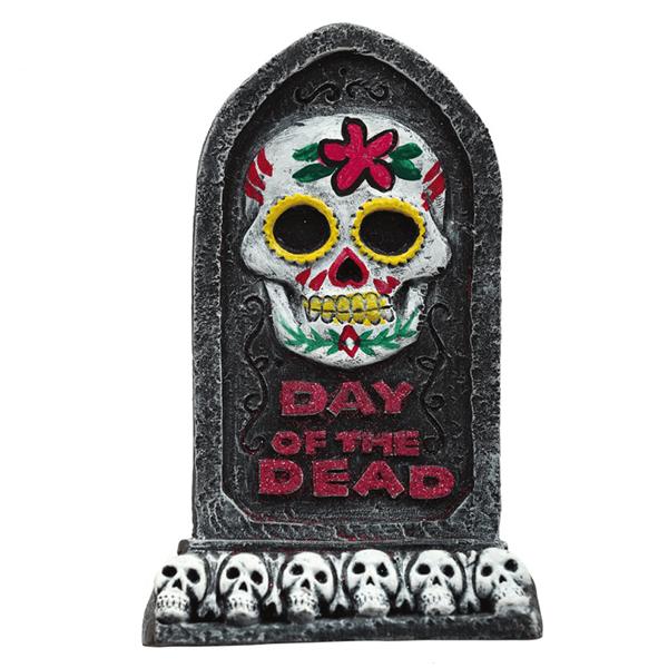 Lápide Dia dos Mortos, 13 x 8 Cm