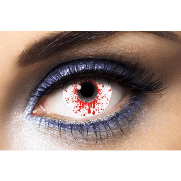 Lentes Efeito Especiais Salpico Sangue
