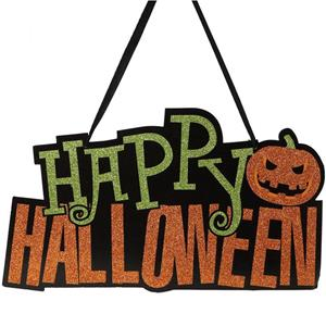 Letreiro Happy Halloween Brilhante