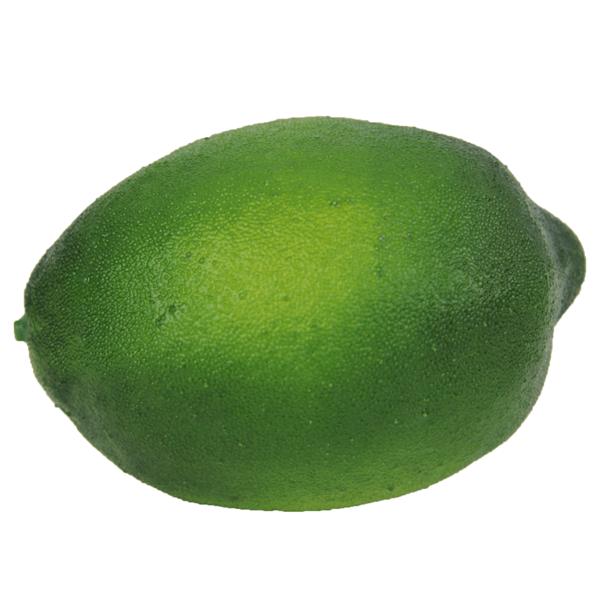 Limão Verde Artificial de Plástico