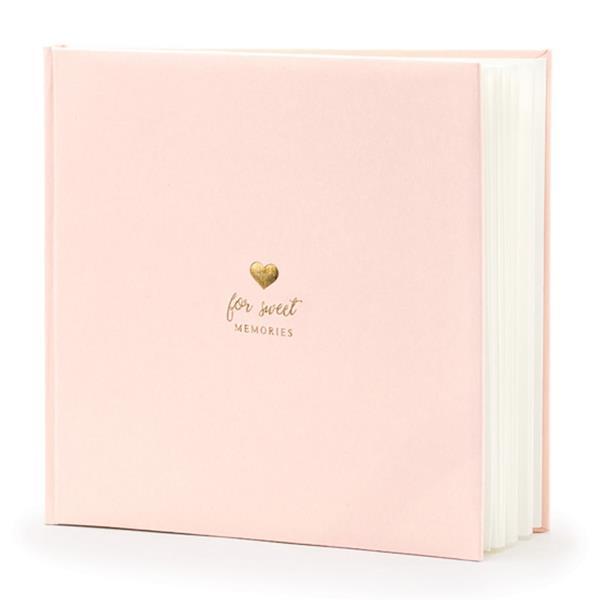 Livro de Assinaturas For Sweet Memories Rosa